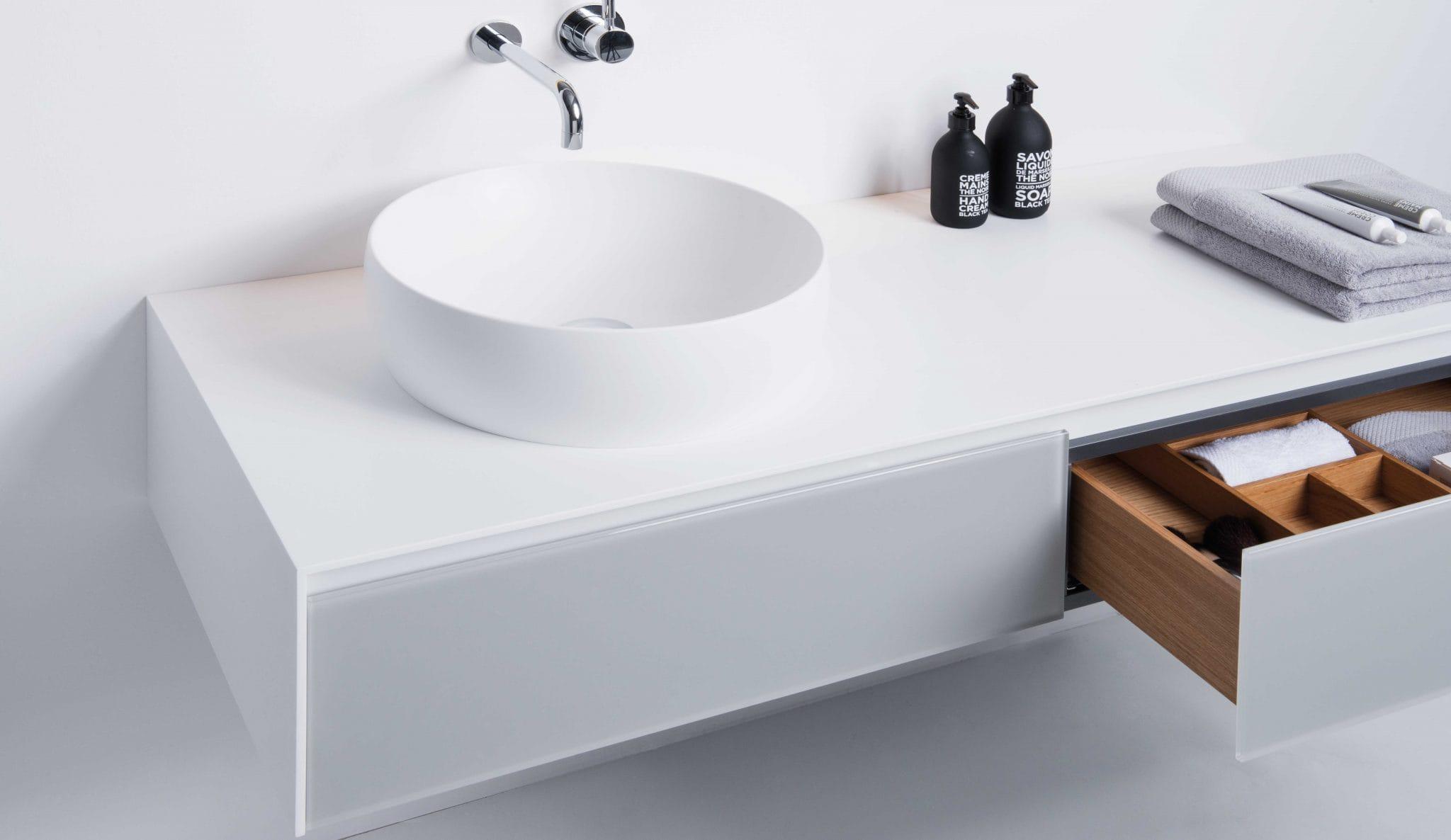 Waschtischunterschränke M2 für Aufsatzbecken